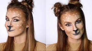 Bambi Halloween Makeup by Easy Deer Makeup Tutorial Snapchat Filter Halloween Costume