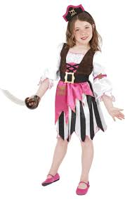 child pink pirate costume jokers masquerade