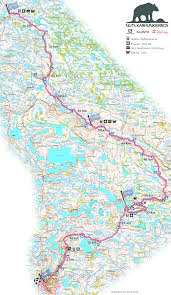 Map Java Nuts Karhunkierros 160 Km May 26th 2017 Orienteering Map From
