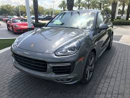2018 new porsche cayenne gts awd at porsche west broward serving