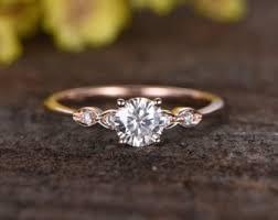 engagement rings etsy moissanite engagement ring etsy