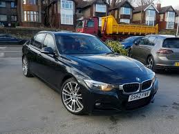 2013 bmw 3 series 320d m sport manual black with red leathers 1