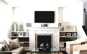 living room modern fireplace fireplace with tv contemporary