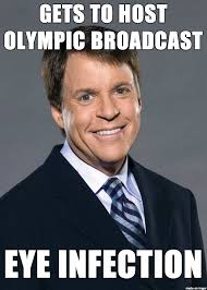 Bob Costas Meme - bad luck bob costas meme on imgur