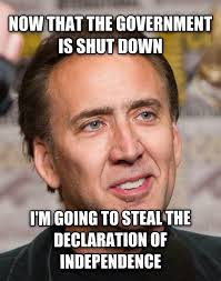 Best Meme 2013 - sean parnell on twitter this may be the best governmentshutdown