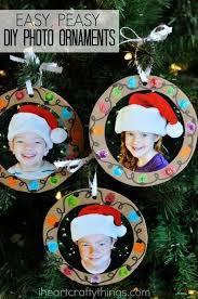 easy diy photo ornaments diy diy and