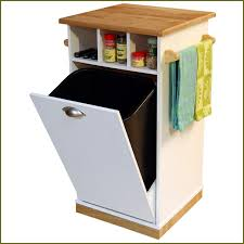 garbage can cabinet incabinet can tilt out trash bin storage