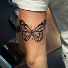 dotwork butterfly by diogo rocha tattoos on