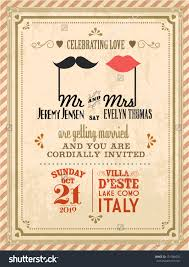 Invitation Card Marriage Vintage Wedding Invitation Templates Theruntime Com