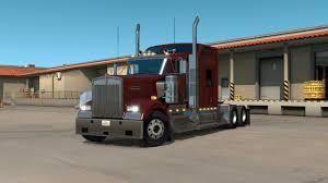 new kenworth w900 kenworth w900 interior exterior rework american truck simulator