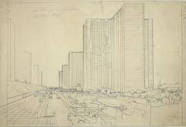 le corbusier u0027s u201ccontemporary city u201d 1925 the charnel house