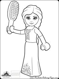 printable disney princess rapunzel coloring pages realistic