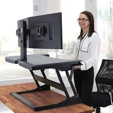 Ergotron Sit Stand Desk Ergotron 33 397 085 Workfit T Adjustable Height Standing Desk