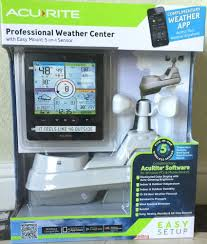 advanced acurite professional wireless color weather station 5