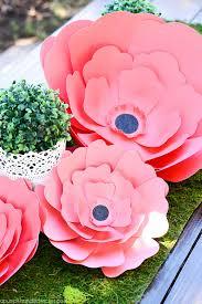 paper flower centerpieces paper flower centerpiece a pumpkin and a princess