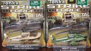 tonka army jeep helicopter toys unboxing 2 tonka diecast metal helicopter toys