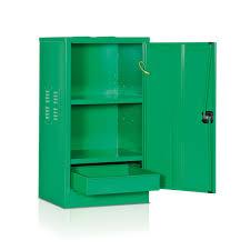 armadio lamiera armadio per stoccaggio fitofarmaci 2 piani mm 530x500x1000