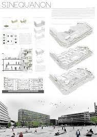 architectural layouts the top three winners of the international gastronomic center