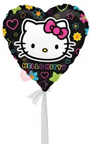 inflated helium balloons delivered hello tween heart inflated helium balloon delivered in a