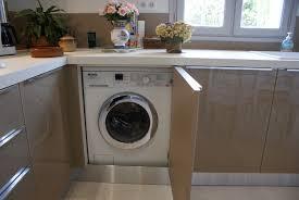 cuisine avec machine à laver lave linge dans cuisine veglix com les dernières idées de design