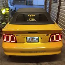 mustang led tail lights 98 mustang tail lights the news wheel