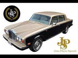 john player special livery 1979 rolls royce silver shadow ii jps inspired notoriousluxury