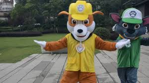 paw patrol halloween costume 2016 wholesale paw patrol air rescue mascot character costume paw