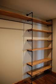 Shelving For Closets by Best 20 Closet Rod Ideas On Pinterest Industrial Closet Storage