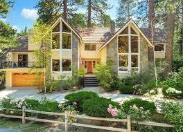frame house sunday house crush pretty yellow double a frame mountain home