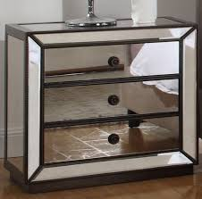 3 Drawer Nightstands 8 Mirrored Nightstands For Your Bedroom Cute Furniture