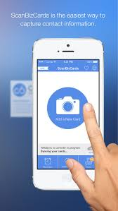 Business Cards App For Iphone Scanbizcards Lite On The App Store