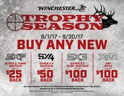 trophy season rebates
