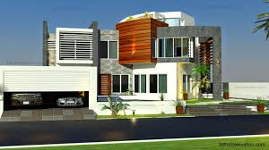 3d front elevation com oman modern contemporary villa 3d front