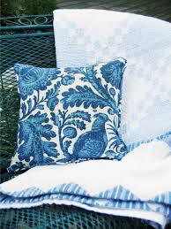 Covering A Seat Cushion How To Sew A Simple Outdoor Pillow Hgtv