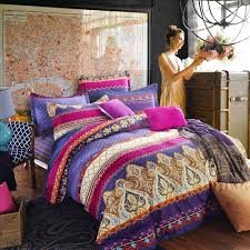 pink purple and rust orange chevron stripe and paisley pop
