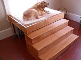 innovative elevated dog bed with stairs translatorbox stair