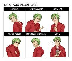 Uuuuhhhh Meme - villain face meme eris by monoclebunny on deviantart