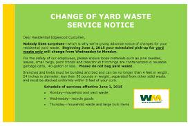 city of edgewood changes from waste management