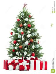 christmas tree and presents royalty free stock images image