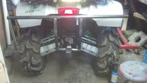homemade jeep bumper homemade rear bumper arcticchat com arctic cat forum