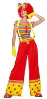 ladies clown halloween costumes moppie the clown costume costumes big top and halloween
