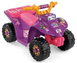 power wheels jeep barbie amazon com power wheels dora lil quad toys u0026 games