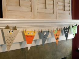 Halloween Crafts For Classroom - home accessories awesome diy halloween banner decoration on