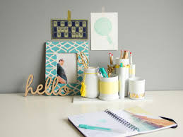 Office Desk Accessories by Make Your Desk Accessory Set Hgtv