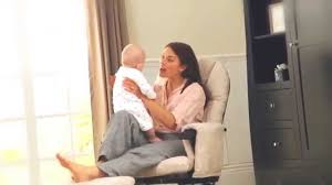 Rocking Chairs For Nursing Mothers Recline Glider Chairs And Stools Nursing Chair Range Youtube