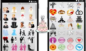 wedding wishes emoji wedding stickers android apps on play