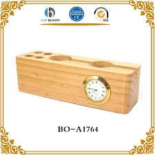 china desk clock pen holder china desk clock pen holder manufacturers and suppliers on alibaba com