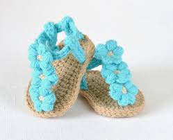 free printable crochet patterns for baby sandals squareone for