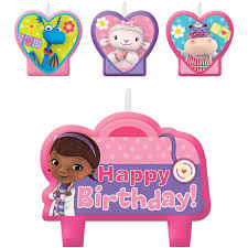 doc mcstuffin birthday cake doc mcstuffins birthday party cake candles 4ct toys