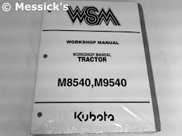 kubota m series shop manuals
